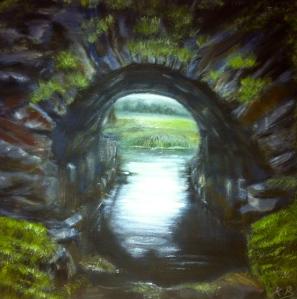 Bridge spanning the River Lennon, Co. Donegal, Ireland
